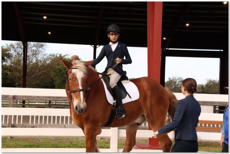 Hippotherapy student champions